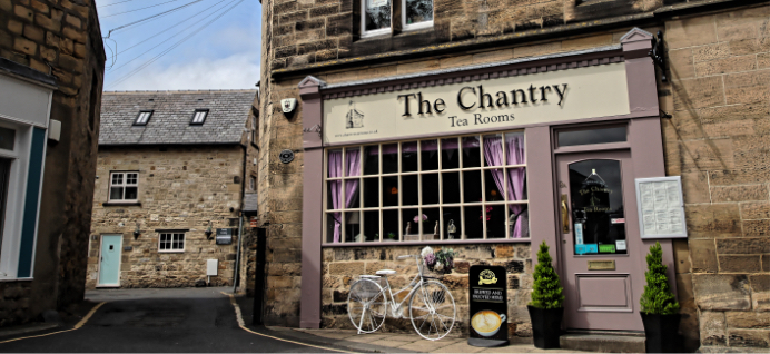 The Chantry Tea Room exterior